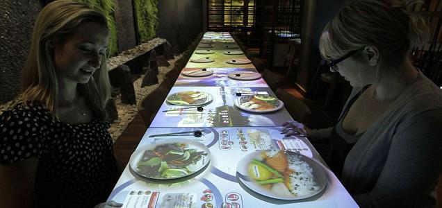 Restaurant Interactive Table Dm9 Design Management